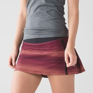 Lululemon Pace Rival Skirt II size 4